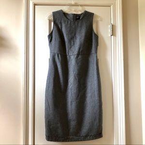 LIKE NEW! Gray Gap Wool Sheath Dress!